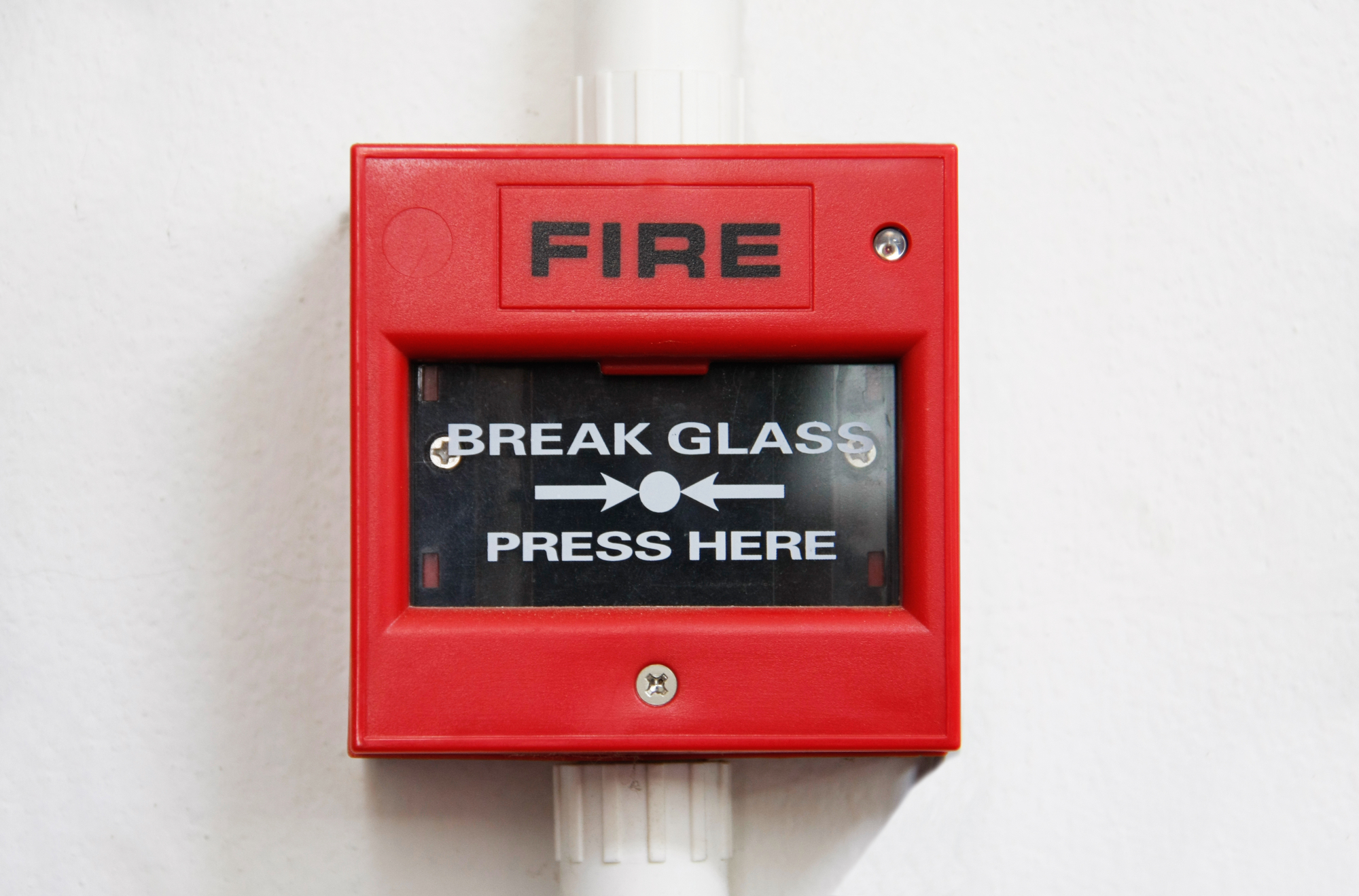 commercial fire alarm box