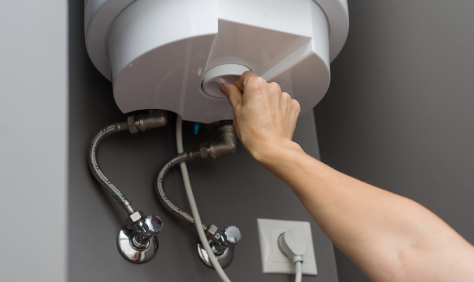 During water heater installation, you should confirm that the unit is giving out hot water.