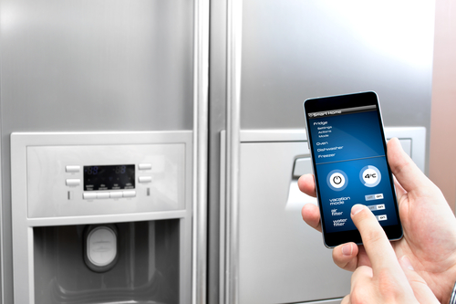 Having a smart fridge makes a smart house.
